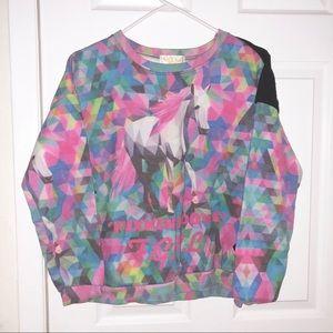 Sweaters - Unicorn sweatshirts Harajuku